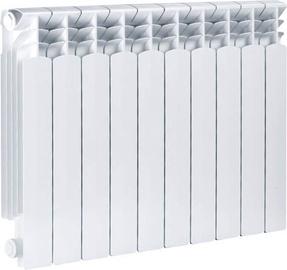 Aliuminio radiatorius Armatura Krakow G500F, 8 dalių