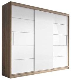 Idzczak Meble Wardrobe Alba II Sonoma Oak/White