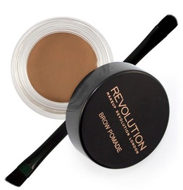 Makeup Revolution London Brow Pomade With Double Ended Brush 2.5g Soft Brown