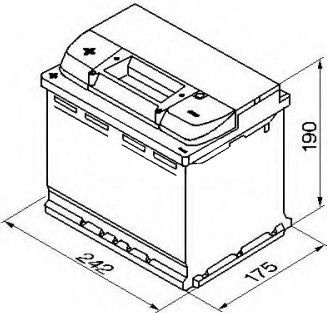 Аккумулятор Bosch High Performance S5 006, 12 В, 63 Ач, 610 а