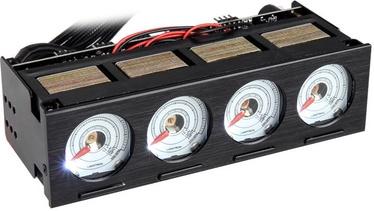 Lamptron CU423 Fan Controller Black