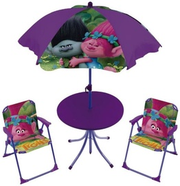 Vaidmenų žaidimas Arditex Table And Chairs Set For Garden DreamWorks Trolls