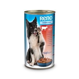 Konservuotas ėdalas šunims Reno, su jautiena, 1.24 kg