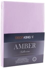 Palags DecoKing Amber Lilac, 200x200 cm, ar gumiju