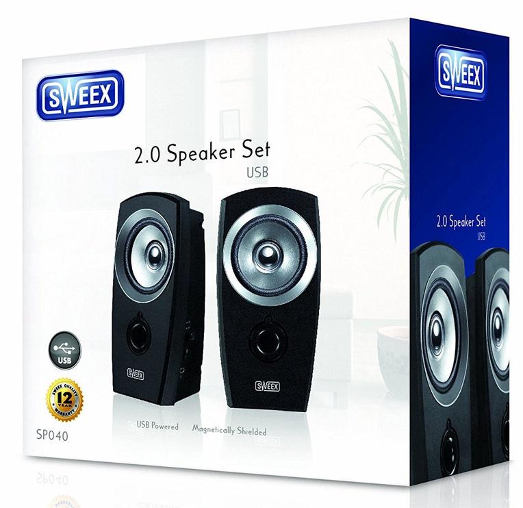 Sweex SP040 2.0 Black Silver