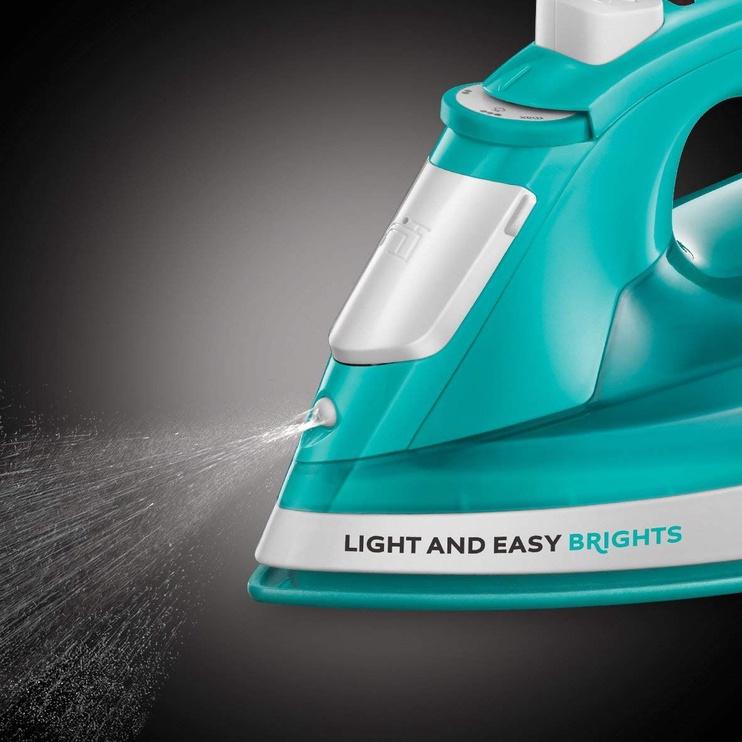 Утюг Russell Hobbs Light & Easy Brights 24840-56, синий/белый