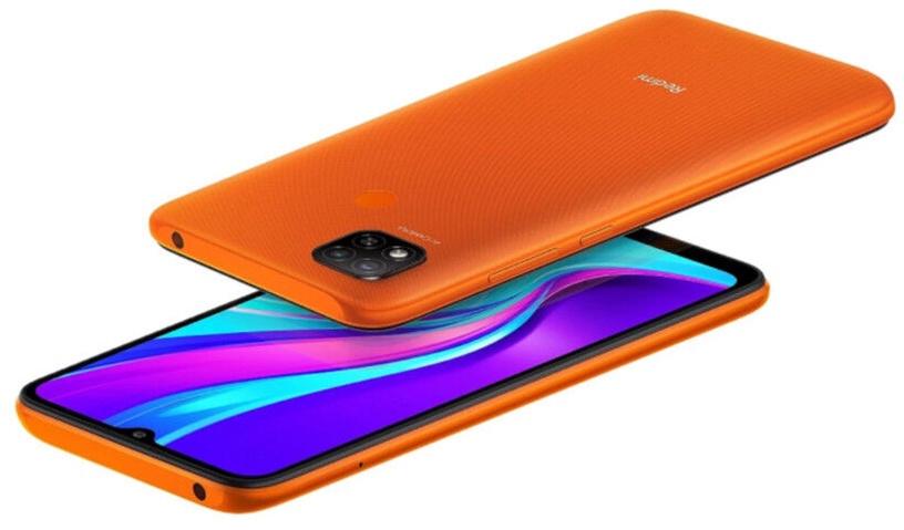 Мобильный телефон Xiaomi Redmi 9C, oранжевый, 3GB/64GB