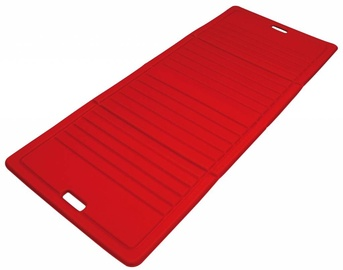 Fitnesa un jogas paklājs Sveltus, sarkana, 170 cm x 70 cm