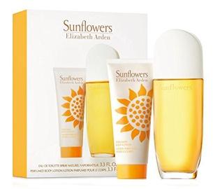 Tualetes ūdens Elizabeth Arden Sunflowers 100 ml EDT + 100 ml Ķermeņa losjons
