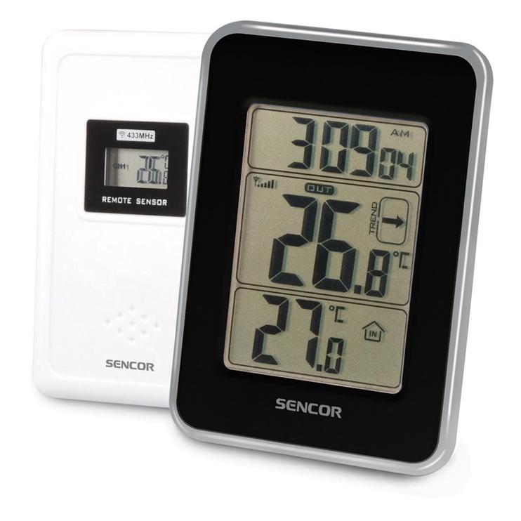 Digitaalne termomeeter sise- ja välistingimustesse Sencor SWS 25 BS