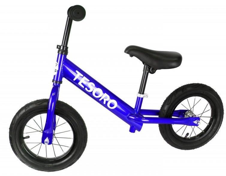 Tesoro PL-12 Balance Bike Blue Mettalic