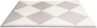 SkipHop Playspot Geo Foam Floor Tiles Grey/Cream