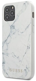 Guess Marble Back Case For Apple iPhone 12/12 Pro White