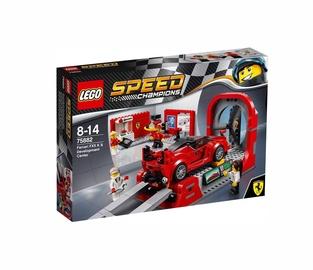 Konstruktorius LEGO Speed Champions, Ferrari FXX K ir kūrimo centras 75882