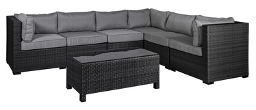 Home4you Sevilla Garden Furniture Set Black