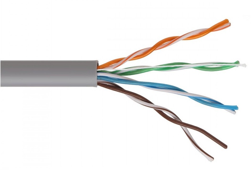 Провод Maclean Cat. 5e UTP Twisted Pair Cable 50m