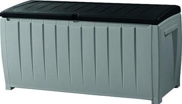 Keter Novel Storage Box 340l Grey/Black