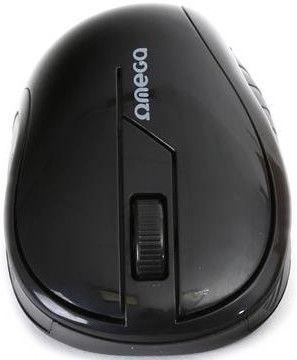 Omega OM0415B Wireless Optical Mouse Black