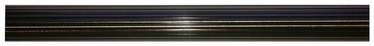 Karnīzes stienis D25, 300cm, rievots, zelta