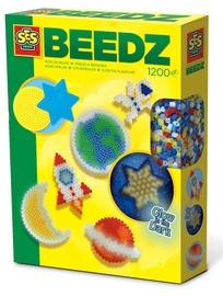 SES Creative Beedz Iron On Beads Glow In The Dark Universe 06302