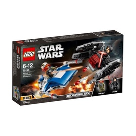 Конструктор LEGO Star Wars A-Wing vs. TIE Silencer Microfighters 75196 75196, 188 шт.