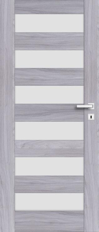 PerfectDoor Erie 01 Door 80 Left Grey Oak