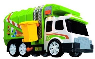 Dickie Toys Garbage Truck Green/White 3308357