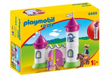 Playmobil 1-2-3 Castle With Stackable Tower 9389