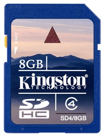 Kingston 8GB SDHC CARD CLASS 4
