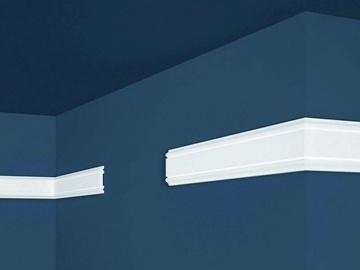 Sienų apdailos juosta Intero HW-3, balta, 200 x 0.8 cm