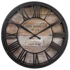 SN Vintage Quartz Clock D39cm Brown