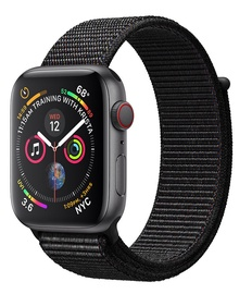 Apple Watch Series 4 40mm Cellular Aluminium Space Grey/Black Loop