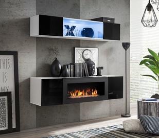 ASM Fly N3 Living Room Wall Unit Set Black/White