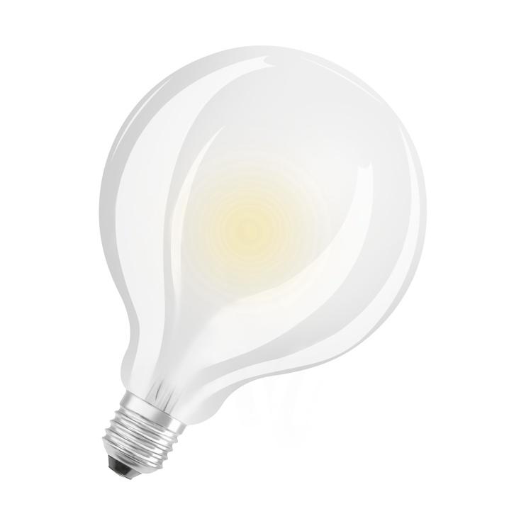 LED Osram G95, 11.5W, E27, 2700K, 1521lm