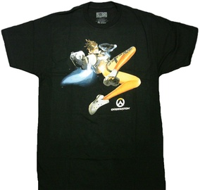 Jinx Overwatch The Cavalry's Here T-Shirt Black L