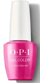 Лак для ногтей OPI Gel Color La Paz-itively Hot