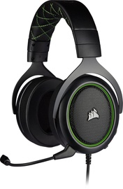 Ausinės Corsair HS50 Pro Stereo Green