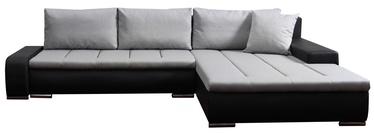 Platan Corner Sofa Tivano Gray/Black