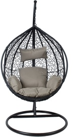 Home4you Droplet Hanging Chair Black