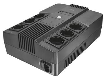 UPS sprieguma stabilizators Trust Maxxon 800VA UPS with 6 Standard Wall Power Outlets 23326