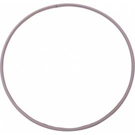 Гимнастический обруч Yate M04936, 800 мм, 0.6 кг, розовый