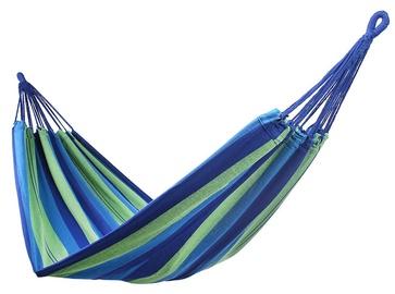Võrkkiik DecoKing Cotpoly, sinine/roheline, 210 cm