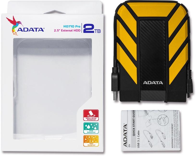 Adata HD710 Pro 2TB USB 3.1 Yellow