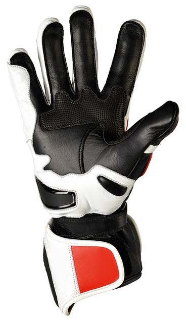 Shiro Racing GP Gloves SH-07 White Black Red L