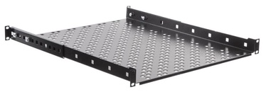 Netrack Equipment Shelf 19'' 1U /  450 mm Black