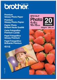 Brother Photo Paper A6 190 Glossy 20 Pages