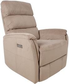 Fotelis Home4you Barclay 13858, kreminės spalvos, 86x79x105 cm