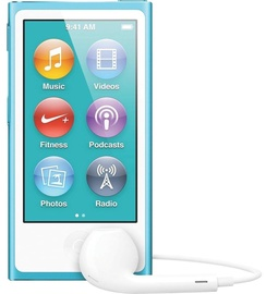 Apple iPod Nano 16GB Blue 7th Gen