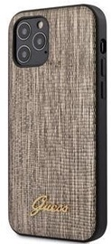 Guess Lizard Back Case For Apple iPhone 12/12 Pro Gold