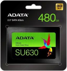ADATA SU630 480GB SSD 2.5inch SATA3 520/450 MB/s 3D QLC NAND